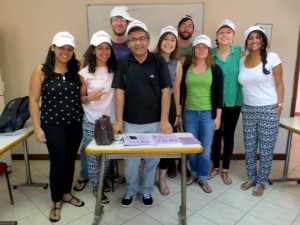 My CLS advanced Turkish class and Halil Hoca (Teacher)